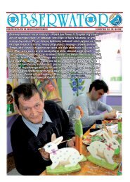 Obserwator nr 108/2011 - Fundacja Misericordia