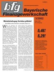 """HPR lehnt """"Vorsteher - bei der Bayerischen Finanzgewerkschaft"""