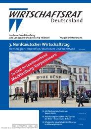 3. Norddeutscher Wirtschaftstag - Wirtschaftsrat der CDU e.V.