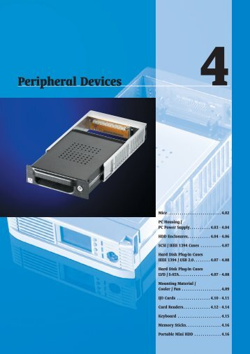 Peripheral Devices - TCW