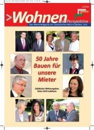 50 Jahre Bauen für unsere Mieter - Städtische Wohnungsbau GmbH ...