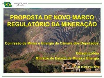 Apresentação - Ministério de Minas e Energia