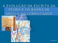 a evolução da escrita - Drb-assessoria.com.br