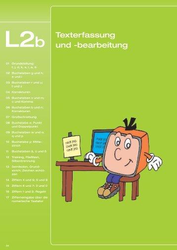 L2b Texterfassung und -bearbeitung