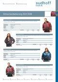 Arbeitsschutz: Alles für den Winter 2007/2008 - sudhoff technik GmbH - Page 5
