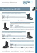 Arbeitsschutz: Alles für den Winter 2007/2008 - sudhoff technik GmbH - Page 7
