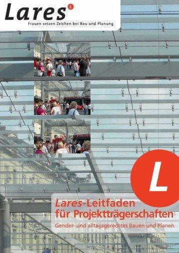 Lares-Leitfaden für Projektträgerschaften - sia