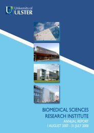 biomedical sciences research institute - Research - University of Ulster
