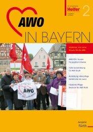 Helfer Ausgabe 2/2012 (.pdf - Arbeiterwohlfahrt Kreisverband Fürth ...
