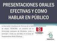 presentaciones orales efectivas y como hablar en público - Tecnicaña