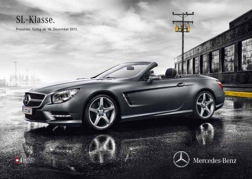 Preisliste SL - Daimler