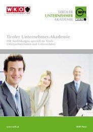 tiroler Unternehmer-akademie