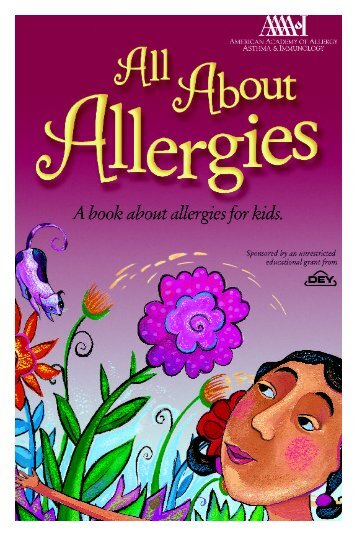 """""""All About Allergies"""" Book"""