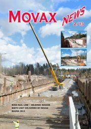 Ring Rail line – Helsinki Region 800tH unit deliveRed by Movax ...