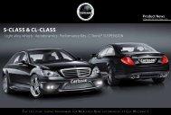 S-ClaSS & Cl-ClaSS - Carlsson Autotechnik