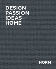 DESIGN PASSION IDEAS— HOME - Horm Orizzonti