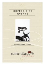 Coffee-Bike Events (PDF) - LOCATIONS MESSE