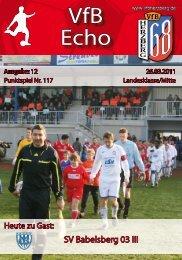 VfB Echo - VfB Herzberg 68