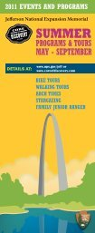 2011 programs rack web - Gateway Arch