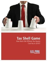 Tax Shell Game - West Virginia Citizen Action Group