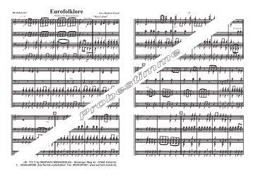 Probestimme - Wertach Musikverlag