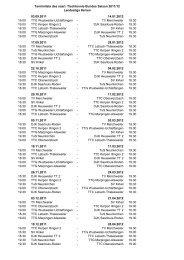 Spielplan DJK Roden als pdf-Datei - DJK Saarlouis-Roden