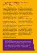 Preventie door de thuiszorg, analyse van ... - In voor zorg! - Page 6