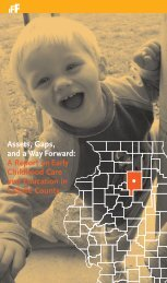 A Report on Early Childhood Care and Education in LaSalle ... - IFF