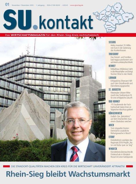 Rhein-Sieg bleibt Wachstumsmarkt
