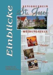 Einblicke Ausgabe 22 Januar 2013 - Seniorenheim St.Josef ...