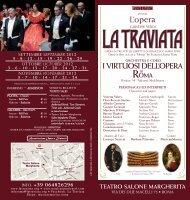 La Traviata - Salone Margherita