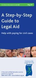 A Step-by-Step Guide to Legal Aid