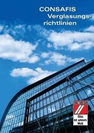 CONSAFIS Verglasungsrichtlinien - Glastechnik Engels GmbH