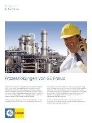 Prozesslösungen von GE Fanuc