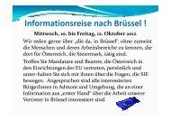 Informationsreise nach Brüssel [Kompatibilitätsmodus]