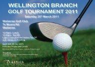 Wellington Golf 2011.indd