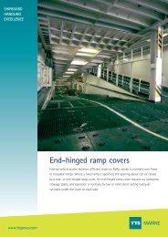 End-hinged ramp covers MARINE - TTS Group ASA