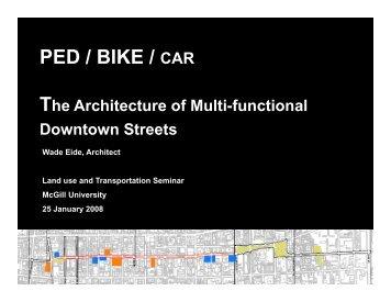 Presentation - Transportation Research At McGill (TRAM) - McGill ...