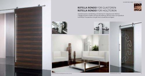 roTella rondo Für Glastüren roTella rondo Für holztüren - Frascio