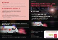 BME Health & Social Care Providers Consortium - Hillingdon ...