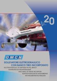 sollevatore elettroidraulico con banco tiro incorporato 20 - Omcn