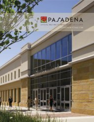 Meeting Planner Guide - Pasadena Convention & Visitors Bureau