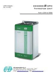 CD3000S-3PH Thyristor Unit - CasCade Automation Systems BV