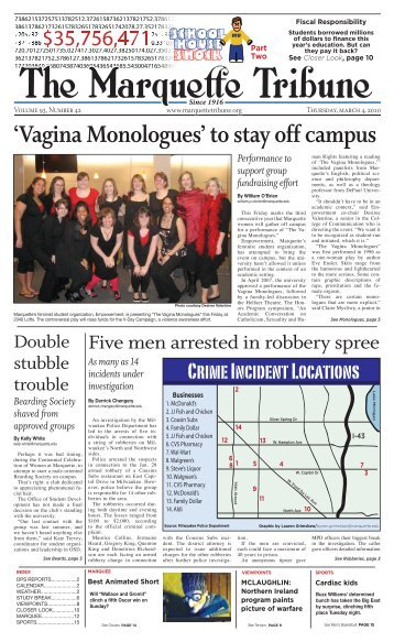'Vagina Monologues' to stay off campus
