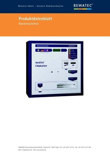 BEWATEC Kassenautomat (PDF) - Effexx