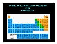 Atomic Theory & Periodicity Notes