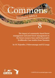 The Impact of Community-based Forest Management and Joint ...