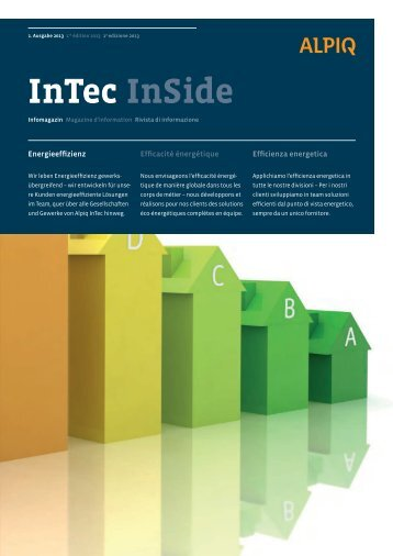 InTec InSide - Alpiq InTec