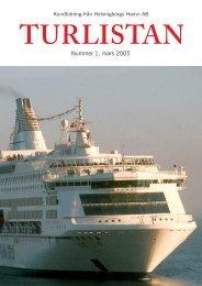 Turlistan 1 2005 - Helsingborgs Hamn AB - Helsingborgs stad