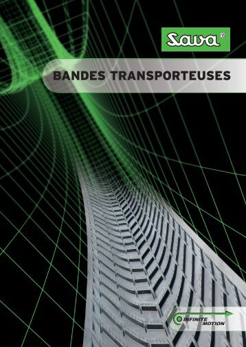BANDES TRANSPORTEUSES - Savatech